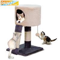 Cat Toy Scratching New Design Domestic Delivery H52CM Wood Climbing Tree Cat Jumping Standing Frame Cat Furniture Pet Supplies
