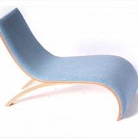 Wave Childrens Chair - Willow Blue