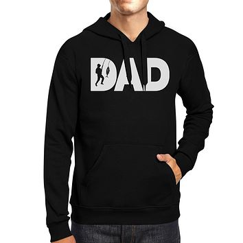 Dad Fish Black Hoodie Fathers Day Gifts For Fishing Lover Dads