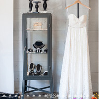 Lace Wedding Dress 2014, Simple Wedding Dress, Bridal Gown, Sexy Lace Beaded Wedding Gown, Ivory Lace Wedding Dress, Wedding Reception Dress