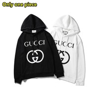 Gucci Fashion Casual Logo Letter Print Long Sleeve Hoodie