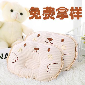 Baby Pillow Neonatal Colored Cotton Round Pillow Pillow Pillow Prevent Migraine And Finalize The Design Pillow Cotton Baby Maternal And Infant Supplies