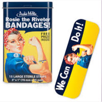 Rosie the Riveter Bandages