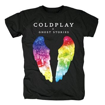 Bloodhoof coldplay Alternative hard Rock and roll black T Shirt Asian Size|T-Shirts