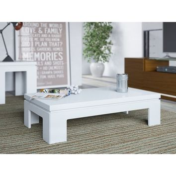 Manhattan Comfort Bridge 2.0 41.65-inch Modern Accent Side Coffee Table | Overstock.com Shopping - The Best Deals on Coffee, Sofa & End Tables