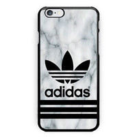Adidas Logo White Marble Best Seller Print On Hard Case For iPhone 6s Plus