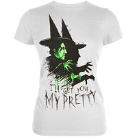 Wizard of Oz - Get You My Pretty Juniors T-Shirt