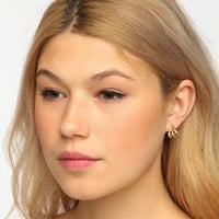 Cable Beach Under-Ear Earring