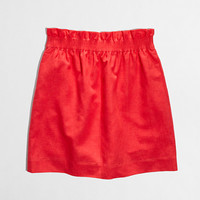 Factory linen-cotton mini - Mini/A-Line - FactoryWomen's Skirts - J.Crew Factory