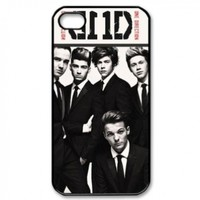 CTSLR Music & Singer Series Protective Hard Case Cover for iPhone 4 & 4S - 1 Pack - One Direction - We Are Together 13
