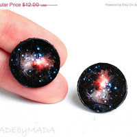 Galaxy Post Studs Earrings