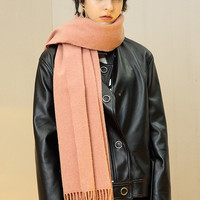 Wool Cashmere Blend Scarf