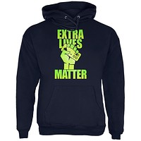 Video Games Extra Lives Matter Mens Hoodie