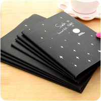 Hot Sketchbook Diary drawing Painting graffiti black paper A6 A5 27 sheets ketch book notebook School Supplies as gift