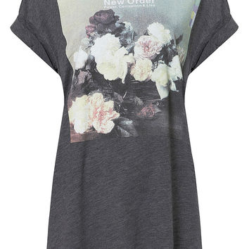 New Order Tee By And Finally - Topshop