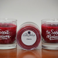 Cherry Bomb Fragrance in Palm Wax , Highly Scented Candle