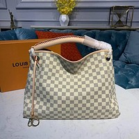 lv louis vuitton women leather shoulder bags satchel tote bag handbag shopping leather tote crossbody 185