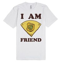 I Am Nacho Friend-Unisex White T-Shirt