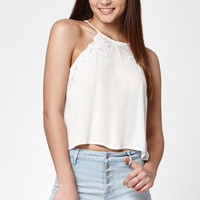 Kendall and Kylie Embroidered Goddess Neck Tank Top at PacSun.com