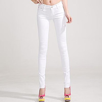 Jeans Denim Pants Womens Jeans Donna Stretch Bottoms Skinny Pants