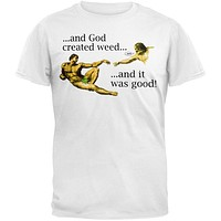 And God Created Weed T-Shirt