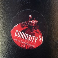 Curiosity Sticker from the Historic Robotic Spacecraft Series