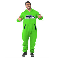 Seattle Seahawks Adult One Piece KLEW Sport Suit Green Sizes XS-XL w/ Priority Shipping