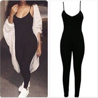 """""""runway"""" Sexy one piece bodycon jumpsuit"""
