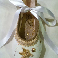 Angel ... Decorated Pointe Shoe