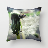 Spring Throw Pillow by Monakhalil | Society6