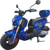 """PRO MCR-139 Rockus Style Upgrade 150cc Scooter (Newly Designed, 12"""" Aluminum Rims, Dual rear shock, Low Profile 50cc Scooter Body Frame, Fully Assembled)"""