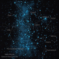 Glow in the Dark Poster The Ancient Ship Constellation Star Poster (astronomically accurate) Star Ceiling Art