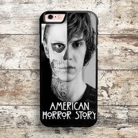 iPhone 6 6s 5s 5c 4s Cases, Samsung Galaxy Case, iPod Touch 4 5 6 case, HTC One case, Sony Xperia case, LG case, Nexus case, iPad case, American Horror Story Skull Tate Cases