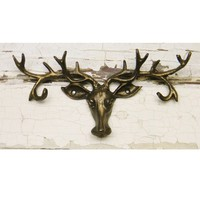 Antler Hook Rack - Choose Your Color - Colorful Cast and Crew