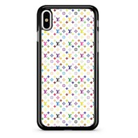 Louis Vuitton Multicolor Pattern iPhone X Case