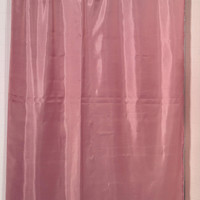 """Royal Bath Water Repellant Fabric Shower Curtain Liner with Weighted Hem (70"""" x 72"""") - Rose"""