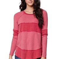 Volcom Chemical Reaction Long Sleeve Top - Womens Tee