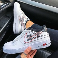 NIKE AIR FORCE 1 '07 3 AF1 Sneakers