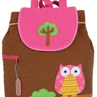 Owl Quilted Backpack by Stephen Joseph