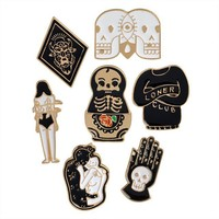 Goth Style Pins