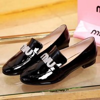 Miu Miu Women Fashion Casual High Heels Shoes-4