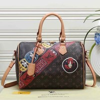 Louis Vuitton LV Fashion Leather Travel Luggage Handbag Satchel Shoulder Bag