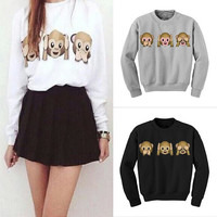 Monkey See No Evil Sweater