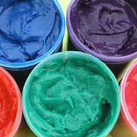 Large Tub of Colored Hair Gel - Temporary Color Liquid Chalk Hair Dye, Pick Your Color - 8 oz. - Party or Event Size
