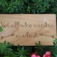 Not All Who Wander Are Lost (6x11) Sign #33