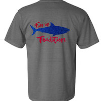 Ole Miss Fins Up Tradition  Gameday shirt