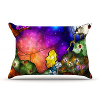 "Mandie Manzano ""Fairy Tale Alice in Wonderland"" Pillow Sham"