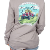 Lauren James Long Sleeve Tee- Classic Southern Charm