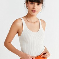 UO Ruth Ribbed Sweater Tank Top | Urban Outfitters
