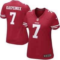 Nike Colin Kaepernick San Francisco 49ers Ladies The Limited Jersey - Scarlet